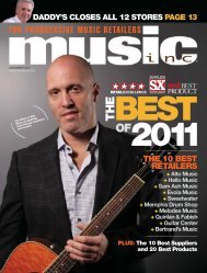 the 10 best retailers the 10 best retailers - Music Inc. Magazine