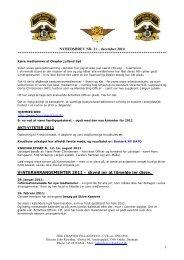 Nyhedsbrev 2011_01.pdf - HOG Chapter Jylland