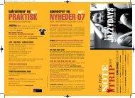 programhæfte - Tversted Jazzydays