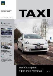 Danmarks første 7-personers hybridtaxi - Dansk Taxi Råd