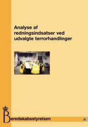 Analyse af redningsindsatser ved udvalgte terrorhandlinger