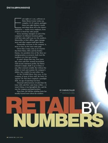 {RETAILBYNUMBERS} - Music Inc. Magazine