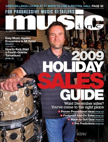 Want December sales? - Music Inc. Magazine