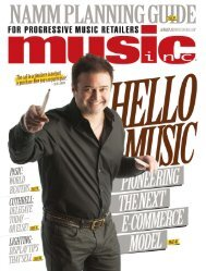 cuthrell - Music Inc. Magazine