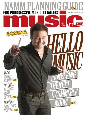 cuthrell - Music Inc. Magazine