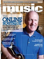 BOUTIQUE - Music Inc. Magazine