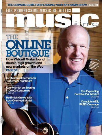 BOUTIQUE - Music Inc. Magazine