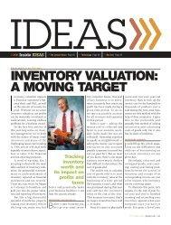 inventory valuation: a moving target - Friedman Kannenberg – Music ...