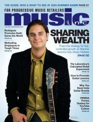 WEALTH SHARING - Music Inc. Magazine
