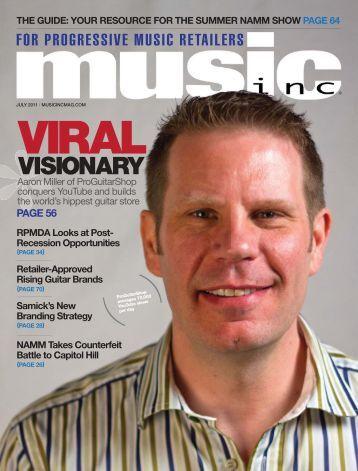 VISIONARY - Music Inc. Magazine
