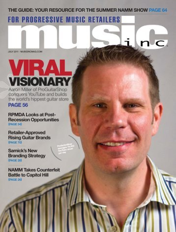 VISIONARY - Music Inc. Magazine