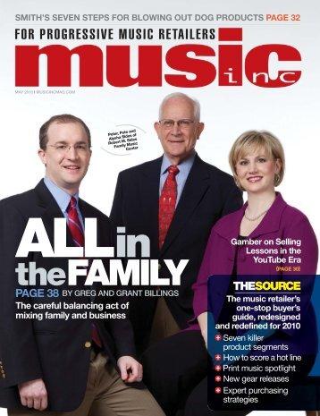the FAMILY - Music Inc. Magazine