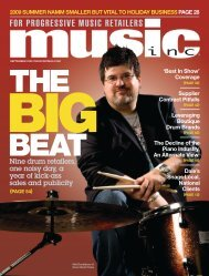 Nine drum retailers, one noisy day, a year - Music Inc. Magazine