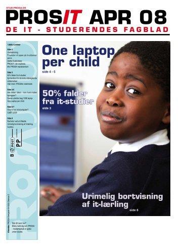 one laptop per child - Prosa
