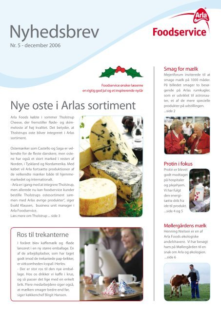 December 2006 - Arla Foodservice