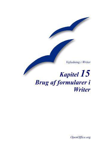 Brug af formularer i Writer - doc.OpenOffice.orgforum.dk