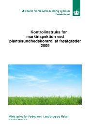 Kontrolinstruks for markinspektion ved ... - LandbrugsInfo