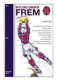 og Ungdomsturneringer – forår 2009 - Boldklubben FREM