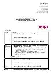 Referat af ordinært HMU-møde 070911 - Regionshospitalet Randers