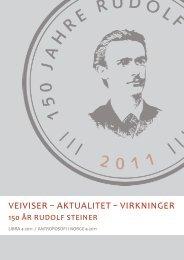 veiviser – aktualitet – virkninger - Antroposofisk Selskap i Norge