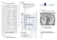 Programm Sommer 2009 - Institut für Musikwissenschaft ...