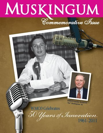 Commemorative Issue - Muskingum University