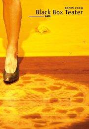 våren 2009 - Black Box Teater