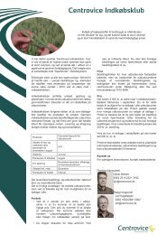 Udskriv produktblad om indkøbsklubben med fordele ... - Centrovice