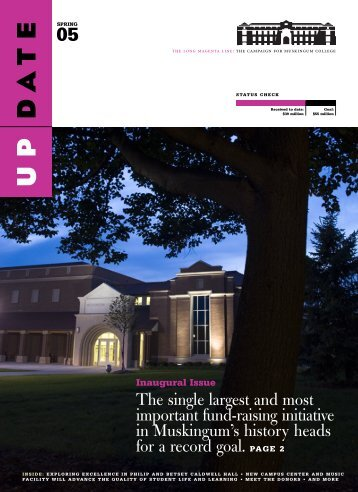 Update for PDF.qxd - Muskingum University