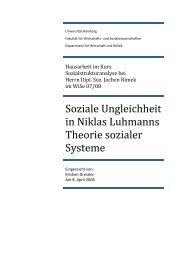 Soziale Ungleichheit in Niklas Luhmanns ... - MussDasSo?