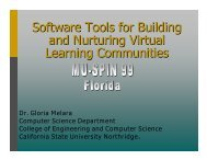 Software Tools for Building Software Tools for Building - Mu-SPIN