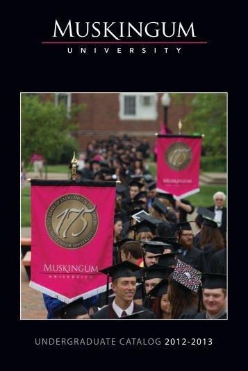 2012-2013 - Muskingum University