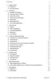 Formelsammlung - FB 4 Allgemein