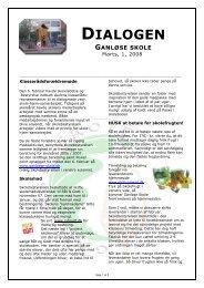 Dialog nr.11 - marts 08 - Ganløse Skole