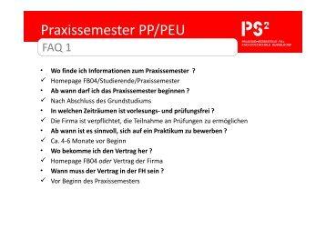 faq praxissemester fb 4 allgemein fachhochschule dsseldorf - Fh Dsseldorf Bewerbung