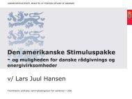 Fremtidens politiske rammebetingelser - Dansk Industri