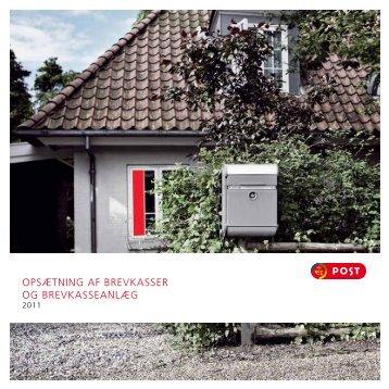 opsætning af brevkasser og brevkasseanlæg - Post Danmark