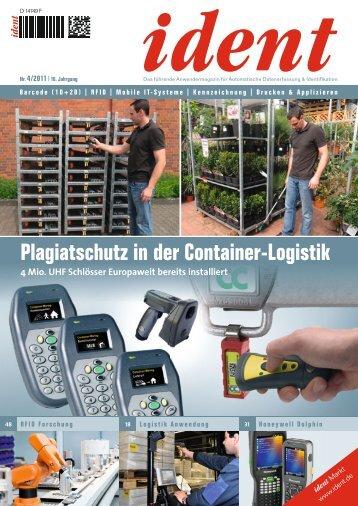 Plagiatschutz in der Container-Logistik