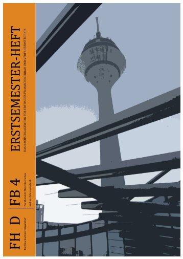 Erstizeitung WS 2011/2012 - FB 4 Allgemein - Fachhochschule ...