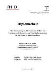 Diplomarbeit - FB 4 Allgemein - Fachhochschule Düsseldorf