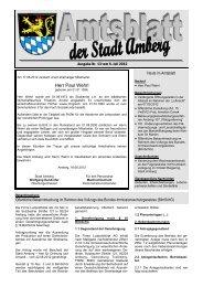 Nr. 13 / 06.07.2012 - Stadt Amberg