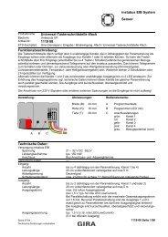 instabus EIB System Sensor Universal-Tasterschnittstelle 4fach ...