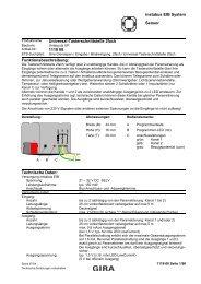 instabus EIB System Sensor Universal-Tasterschnittstelle 2fach ...