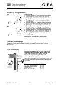 Funk-Universalsender Bestell-Nr.: 0521 00 Funktion Montage - Seite 5