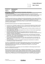 instabus EIB System Aktor / Sensor Alarmzentrale 1142 00