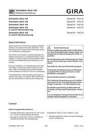 Schaltaktor 4fach 16A Gebrauchsanweisung