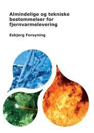 Almindelige og tekniske bestemmelser for fjernvarmelevering