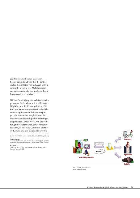 Forschungsbericht 2003 - Fachhochschule Nordwestschweiz