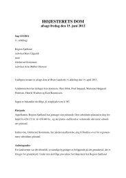 HØJESTERETS DOM afsagt fredag den 15. juni 2012