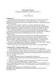 Regler for administrationen af marinaen - Kerteminde Sejlklub